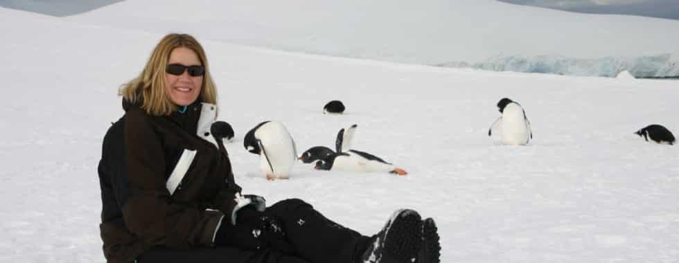 Helle og pingviner